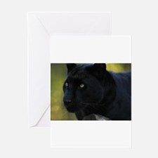 Funny Panther Greeting Card