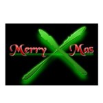Merry Xmas Postcards (Package of 8)