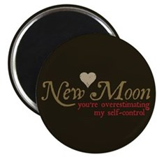 """New Moon Self Control 2.25"""" Magnet (10 pack)"""