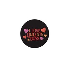 I Love Quileute Boys Mini Button (100 pack)