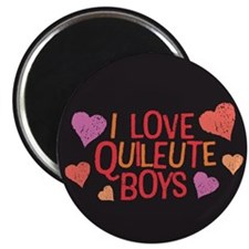 "I Love Quileute Boys 2.25"" Magnet (10 pack)"