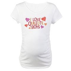 I Love Quileute Boys Shirt
