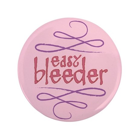 "Easy Bleeder 3.5"" Button (100 pack)"