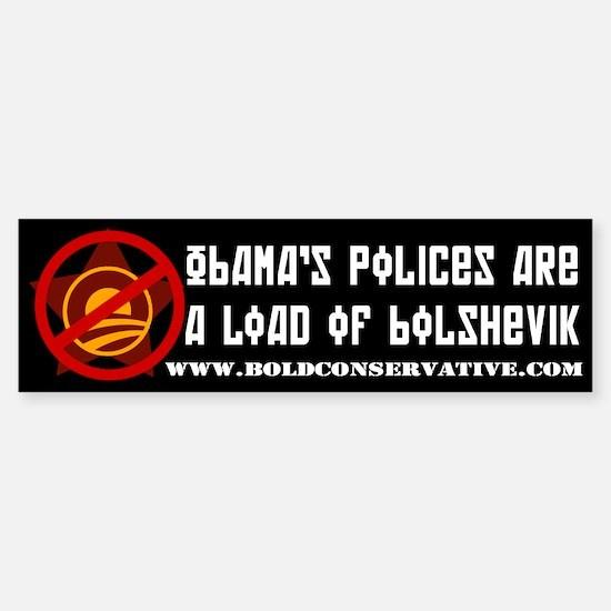 Obama: Load of Bolshevik Bumper Bumper Bumper Sticker