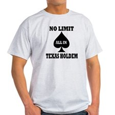 Poker - Texas Holdem T-Shirt