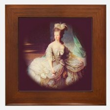 """""""Marie-Antoinette"""" Framed Tile"""