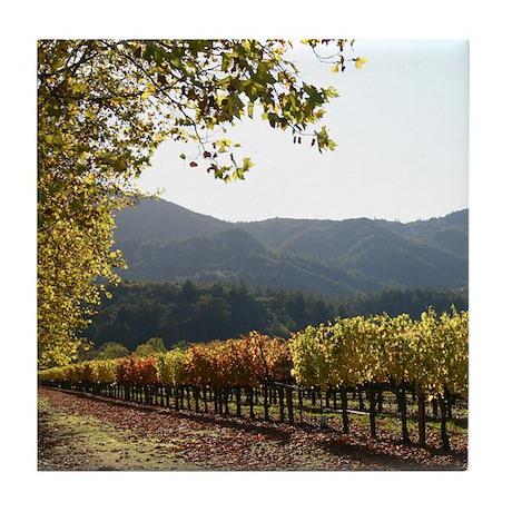San Francisco Gifts Wine Tile Coaster