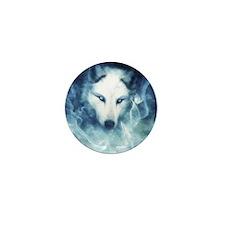 Cute Wolf Mini Button (10 pack)