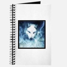 Cool White wolf Journal