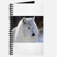 Funny White wolf Journal