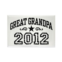 Great Grandpa 2012 Rectangle Magnet