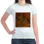 50th Birthday Jr. Ringer T-Shirt