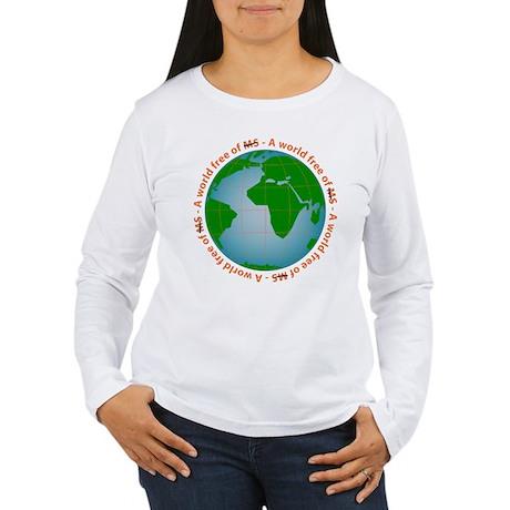MS/Multiple Sclerosis Women's Long Sleeve T-Shirt