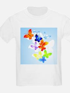 RAINBOW of BUTTERFLIES T-Shirt