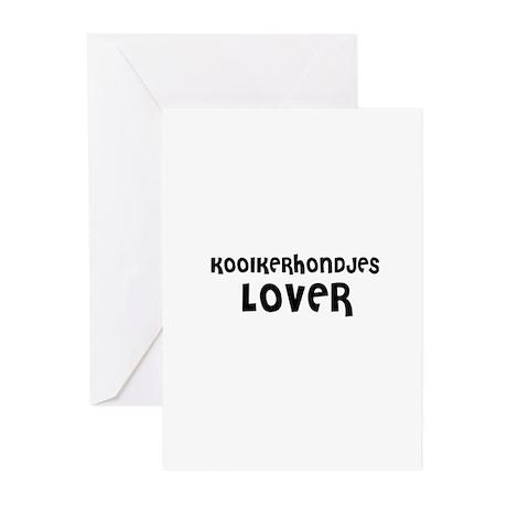 KOOIKERHONDJES LOVER Greeting Cards (Pk of 10)