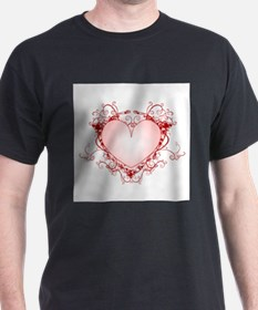 FRILLY RED HEART T-Shirt
