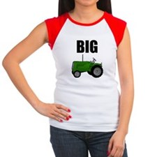 Big Tractor Women's Cap Sleeve T-Shirt