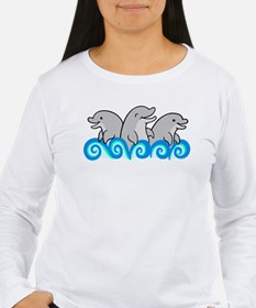 Playful Dolphin Trio T-Shirt