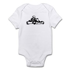 Go Kart Racing Infant Bodysuit