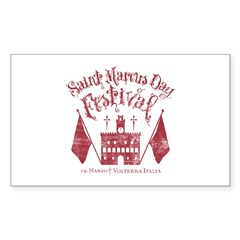 New Moon St. Marcus Day Festival Decal