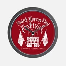 New Moon St. Marcus Day Festival Wall Clock
