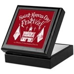 New Moon St. Marcus Day Festival Keepsake Box