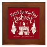 New Moon St. Marcus Day Festival Framed Tile