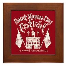 New Moon St. Marcus Day Festival Framed Tile