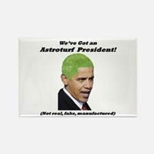 """""""Astroturf President"""" Rectangle Magnet"""