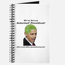 """""""Astroturf President"""" Journal"""