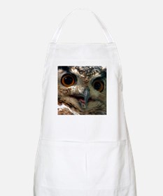 Mysterious Owl! BBQ Apron