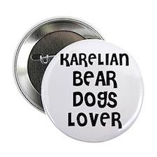 "Cute Karelian bear dog 2.25"" Button (10 pack)"