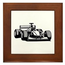Race car Framed Tile