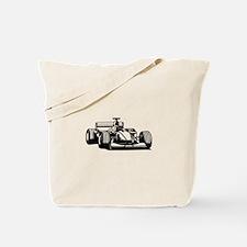 Race car Tote Bag