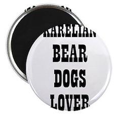 "Cute Karelian bear dog 2.25"" Magnet (10 pack)"
