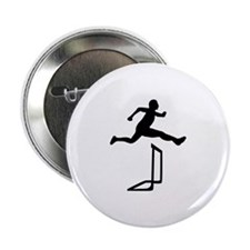 "Athletics - Hurdles 2.25"" Button"