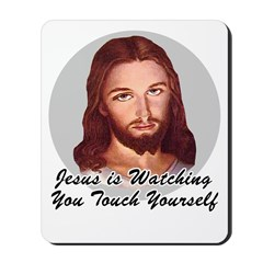 Touch Yourself Mousepad