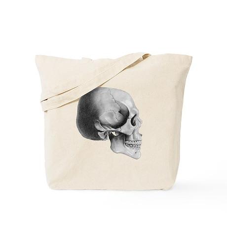 Skull Profile - Tote Bag