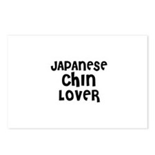 JAPANESE CHIN LOVER Postcards (Package of 8)