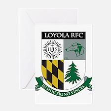 Loyola Rugby Greeting Card