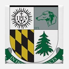 Loyola Rugby Tile Coaster
