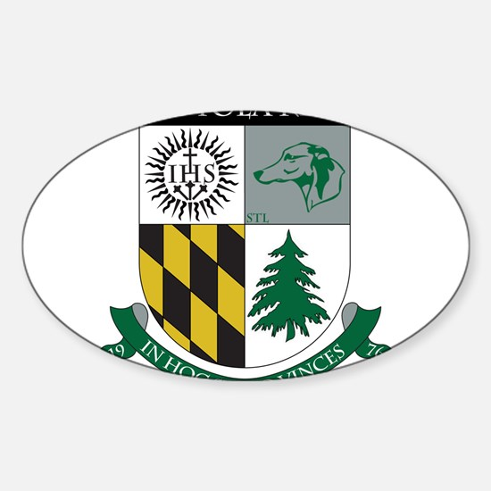 Loyola Rugby Oval Decal