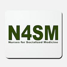 Nurses for Socialized Medicine N4SM Mousepad