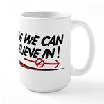 Obama Approval Rating Large Mug