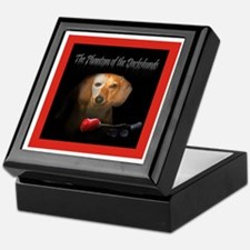 Phantom Doxie Keepsake Box