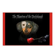 Phantom Doxie Postcards (Package of 8)