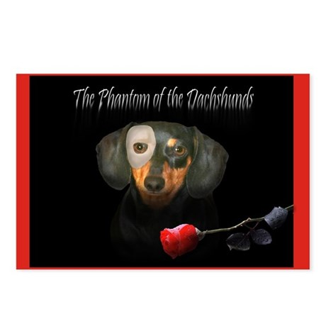 Phantom Doxie Postcards (Package of 8)