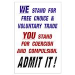 35x23 Admit It! Poster