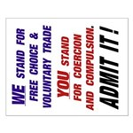 16x20 Admit It! Poster