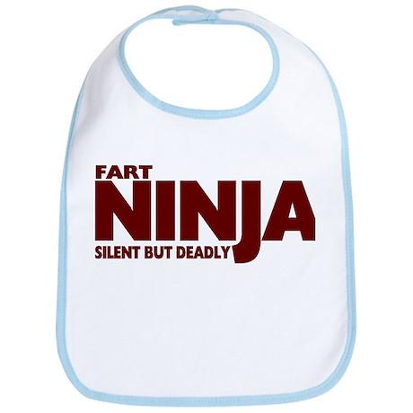 Fart Ninja - Silent But Deadl Bib